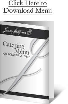 Catering Menu for Pick Up